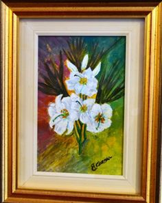 GIGLI  - acrilic on canvas - apr 2016 - 15x20 - sold