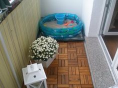 balcony play area