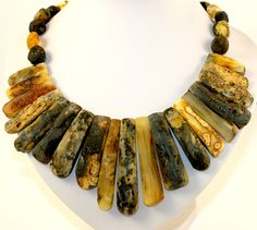 Baltic Amber Necklace Natural Colors and Classic Beads Shape Unique BALTIC AMBER by BalticAmberGiftShop on Etsy
