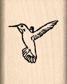 Hummingbird Rubber Stamp  1 inch x 114 inches >>> Continue to the product at the image link.