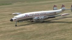 Super Constellation L 1649 - crash avoided during approach for landing