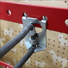 This Straight-Entry Hook Pegboard Extender is an unusual implementation. Extenders are a class of Fixture that mounts in front of Pegboard, allowing other.