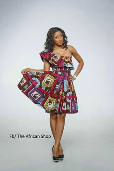 Mamouna  Dress by THEAFRICANSHOP on Etsy, £55.00