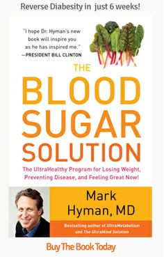 The Blood Sugar Solution - a well-thought out plan to improve health and reverse damage from living with diabetes.