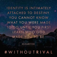 God prepares you for your purpose in His presence. (Get the 1st two chapters of #WithoutRival, releasing August 16, at WithoutRival.com)