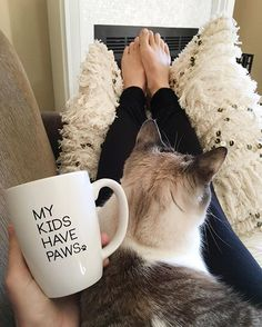 Because it's International Cat Day. #internationalcatday mug by: @ilycouture