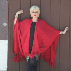 Textured Rib Wrap Metallic Red now featured on Fab.