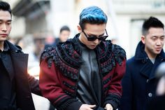 Paris Fashion Week: Men's fall/winter 2014 G-Dragon. Hot DAMN!