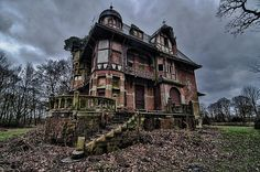 A Different View ~ Chateau Notenboom I ~ Home For A German Couple Who Fled Germany During The War.  They Lived In Belgium In Peace & After The War, Returned To Their Home In Germany, Leaving This Mansion Behind.