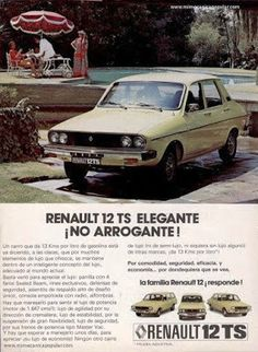 Renault 12 , mine was red. Great car, many lessons in auto repairs Vintage Advertisements, Vintage Ads, Vintage Posters, Classic Motors, Classic Cars, Matra, Automobile, Poster S, Car Advertising
