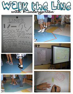 Apex Elementary Art: September 2011..lines Kindergarten