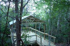 Creekside Deck update - Cedar Hill Farmhouse