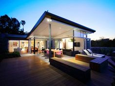 Covered outdoor patio/deck