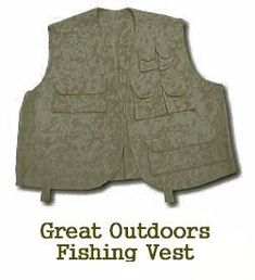 Great Outdoors Fishing Vest - Free Sewing Pattern - sew-whats-new.com