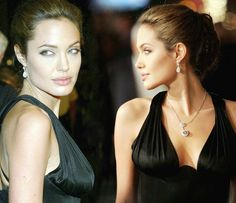 Angelina at the Alexander premiere - 2004