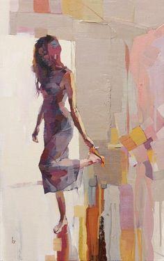 30 Mesmerizingly Beautiful Women Painting Ideas on Canvas Woman Painting, Figure Painting, Painting & Drawing, Large Painting, Painting Canvas, Painted Ladies, Portrait Art, Portraits, Contemporary Paintings