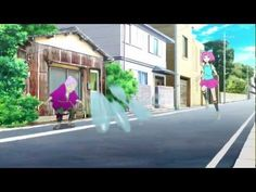 "trippy music video for ""Transfer"" by the Japanese pop group, Livetune"