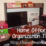 Home Office Organization Tips & Systems using Clever Container!