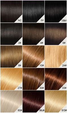 Chinahairmall Color Chart Chocolate Cherry Hair Colors Brown