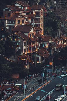 Ancient Chinese Architecture, Chongqing, Interesting Buildings, Cityscapes, Design Firms, Beautiful World, City Photo, Travel Destinations, Scenery