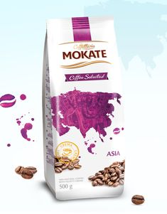 Mokate Coffee Selected on Packaging of the World - Creative Package Design Gallery