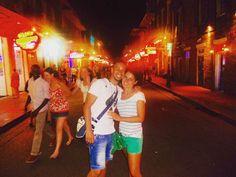 New Orleans  #frenchquarter #bourbonstreet #louisiana #nola #riverwalk #usa #neworleans #mardigras #party #jazz #life #streetstyle #citymusic #aroundtheworld by santnikolas