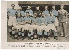 #ManchesterCity 1949-50 #JoeFagin
