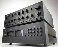 Yamaha C-1 & UC-1 Stereo Control Amplifier (1978)