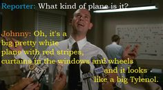 Movies-Quotes-Airplane-Johnny Airplane Movie Quotes, Airplane Humor, Classic Movie Quotes, The Cable Guy, Dont Call Me, Comedy Movies, Hilarious, Funny, Classic Hollywood