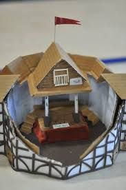 Image result for globe theatre model