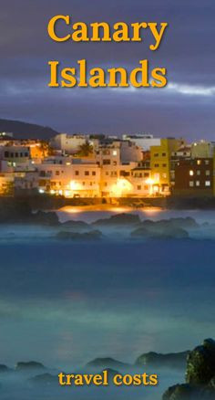 Travel costs for Canary Islands