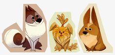 Dogs by lemurali.deviantart.com on @deviantART