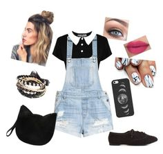 """."" by samcurtis-88 ❤ liked on Polyvore featuring H&M, Charlotte Russe, Forever 21 and Casetify"