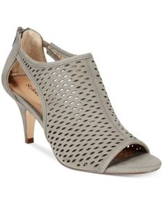 Style & Co Haddiee Ankle Shooties, Only at Macy's - Gray 9.5M