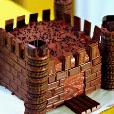 """Maybe should make chocolate """"bricks""""? On the side"""