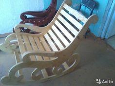 Кресло-качалка из одного листа фанеры своими руками
