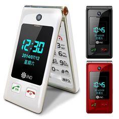 1cb8ec2f034f0a Ino Cp100 3G SOS Senior Flip Phone White Flip Phones