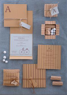 Πρόσκληση - Μπομπονιέρα - My Tree Handmade