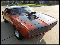 1968 Chevrolet Camaro  468/700 HP, 4-Speed  #MecumHouston