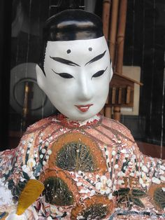 This charming gent lives in a museum in Tobe, Ehime, home of the Tobe Yaki ceramics. #doll #shikoku #ehime