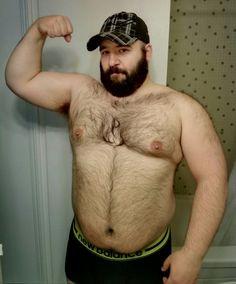 man Big chubby