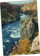 87 - cpsm - Les rochers de l'enfer sur la Gartempe