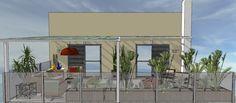 Terraço e Solarium - Projeto Decora