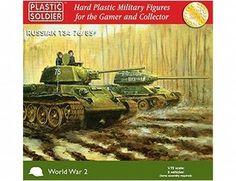 Plastic Soldier Company 1/72 Russian T-34 76/85 - WW2V20001