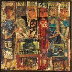 OMAR EL NAGDI (EGYPT, B. 1931) | Queens of Egypt | Christie's