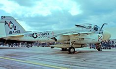 154142   Grumman A-6E Intruder [I-277] (United States Navy) RAF Greenham Common~G 07/07/1974