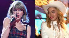 Madonna Crowns Taylor Swift a Princess of Pop