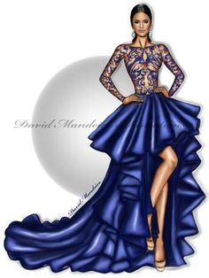 How to Draw a Fashionable Dress - Drawing On Demand Fashion Drawing Dresses, Fashion Illustration Dresses, Dress Illustration, Fashion Dresses, Fashion Illustrations, Drawing Fashion, Design Illustrations, Fashion Design Sketchbook, Fashion Design Drawings