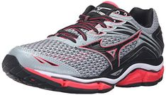 Mizuno Womens Wave Enigma 6W Running Shoe QuarryDiva PinkBlack 65 B US ** You can find more details by visiting the image link.