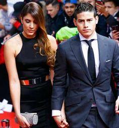 James Rodríguez y su esposa - RUBEN SPRICH
